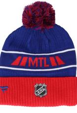 Fanatics Fanatics Men's '20 Locker Pom Knit Montreal Canadiens Blue Red