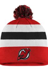 Fanatics Fanatics Men's Locker Room '20 Draft Knit New Jersey Devils Red