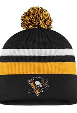 Fanatics Fanatics Men's Locker Room '20 Draft Knit Pittsburgh Penguins Black