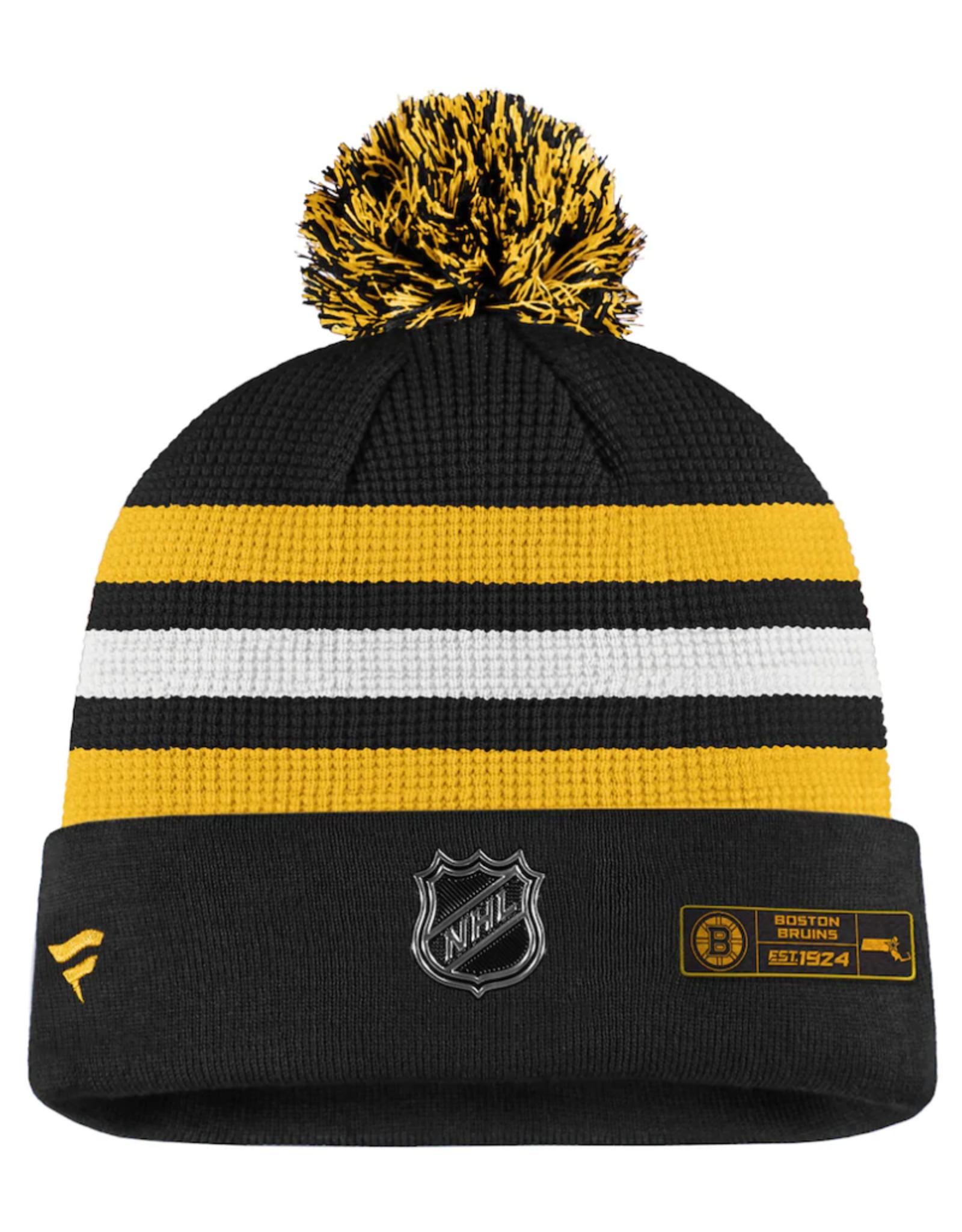 Fanatics Fanatics Men's Locker Room '20 Draft Knit Boston Bruins Black