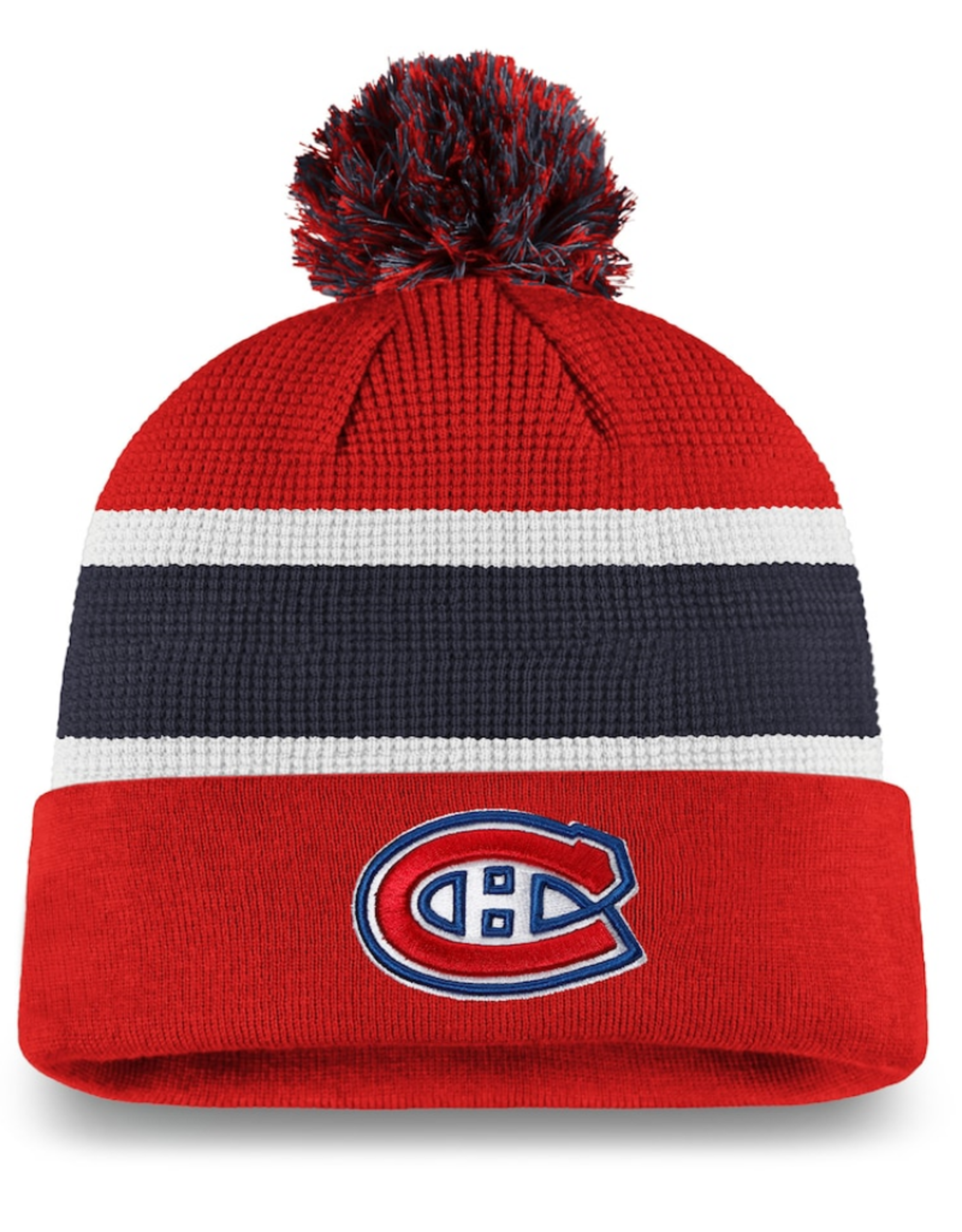 Fanatics Fanatics Men's Locker Room '20 Draft Knit Montreal Canadiens Red