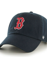 '47 Men's Clean Up Adjustable Hat Boston Red Sox Navy