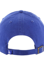 '47 Men's Clean Up Adjustable Hat Los Angeles Dodgers Blue