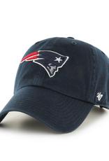 '47 Men's Clean Up Adjustable Hat New England Patriots Navy