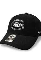 '47 Men's MVP Primary Logo Adjustable Hat Montreal Canadiens Black