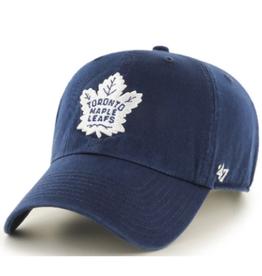'47 Men's Clean Up Adjustable Hat Toronto Maple Leafs Navy