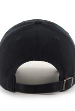 '47 Men's Clean Up Adjustable Hat Toronto Raptors Black on Black