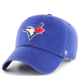 '47 Men's Clean Up Adjustable Hat Toronto Blue Jays Blue