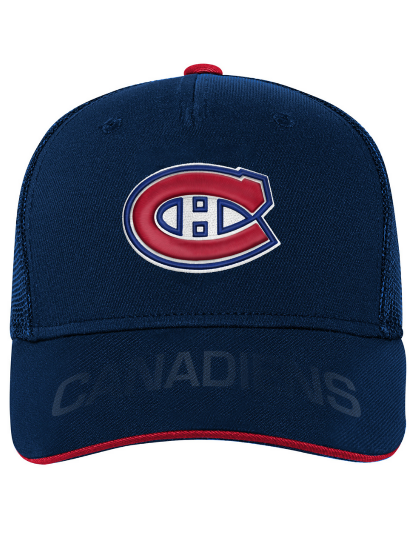 NHL Youth Breakaway Structured Flex Hat Montreal Canadiens
