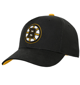 NHL Youth Basic Structured Adjustable Boston Bruins