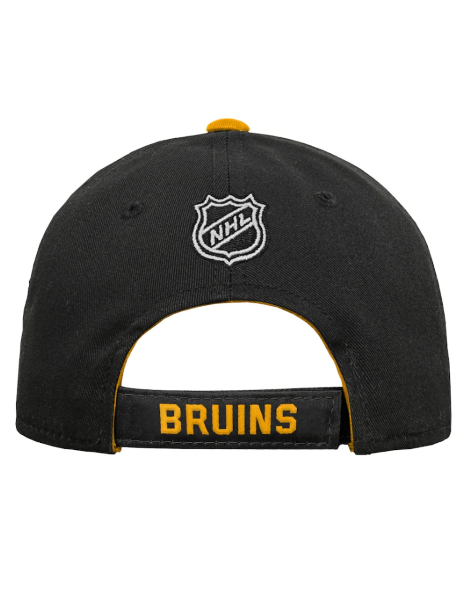 NHL Youth Basic Structured Adjustable Boston Bruins