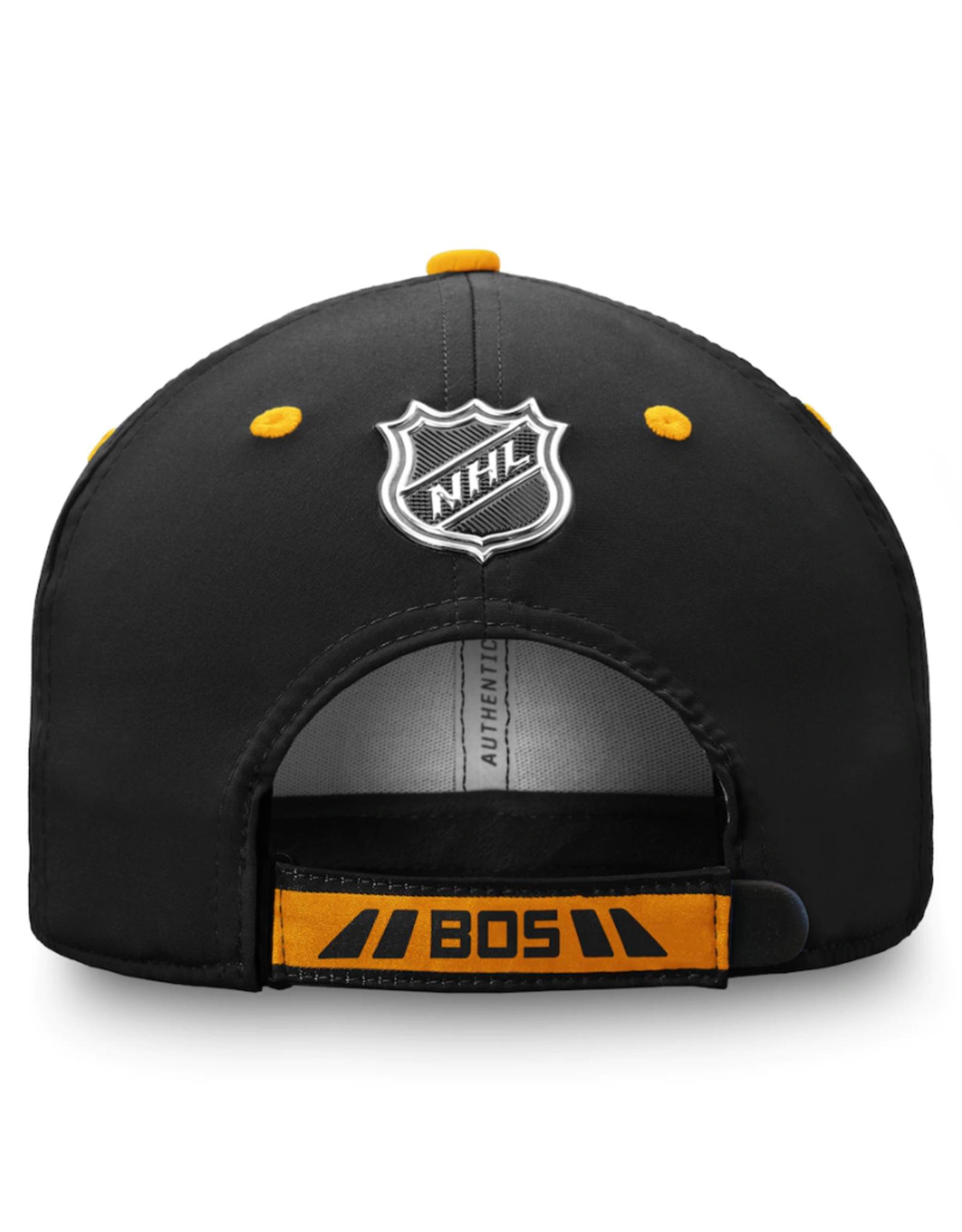 Fanatics NHL Youth Authentic Pro Adjustable Hat Boston Bruins