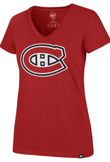 '47 Women's Imprint Ultra Rival T-shirt Montreal Canadiens Red