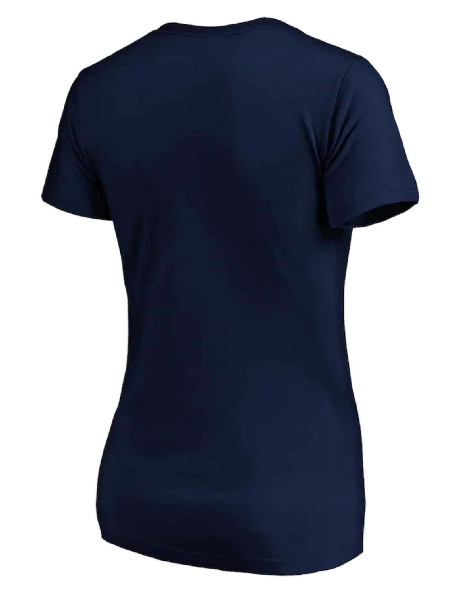 '47 Women's Imprint Ultra Rival T-shirt Toronto Maple Leafs Navy