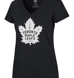 '47 Women's Imprint Ultra Rival T-shirt Toronto Maple Leafs Navy