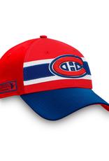 Fanatics Fanatics '20 Authentic Pro Draft Flex Hat Montreal Canadiens Red