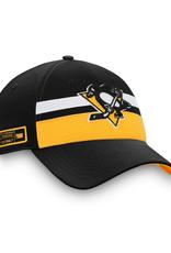 Fanatics Fanatics '20 Authentic Pro Draft Flex Hat Pittsburgh Penguins Black