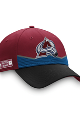 Fanatics Fanatics '20 Authentic Pro Draft Flex Hat Colorado Avalanche Burgundy