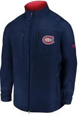 Fanatics Fanatics Men's Authentic Pro Rink Jacket Montreal Canadiens Navy