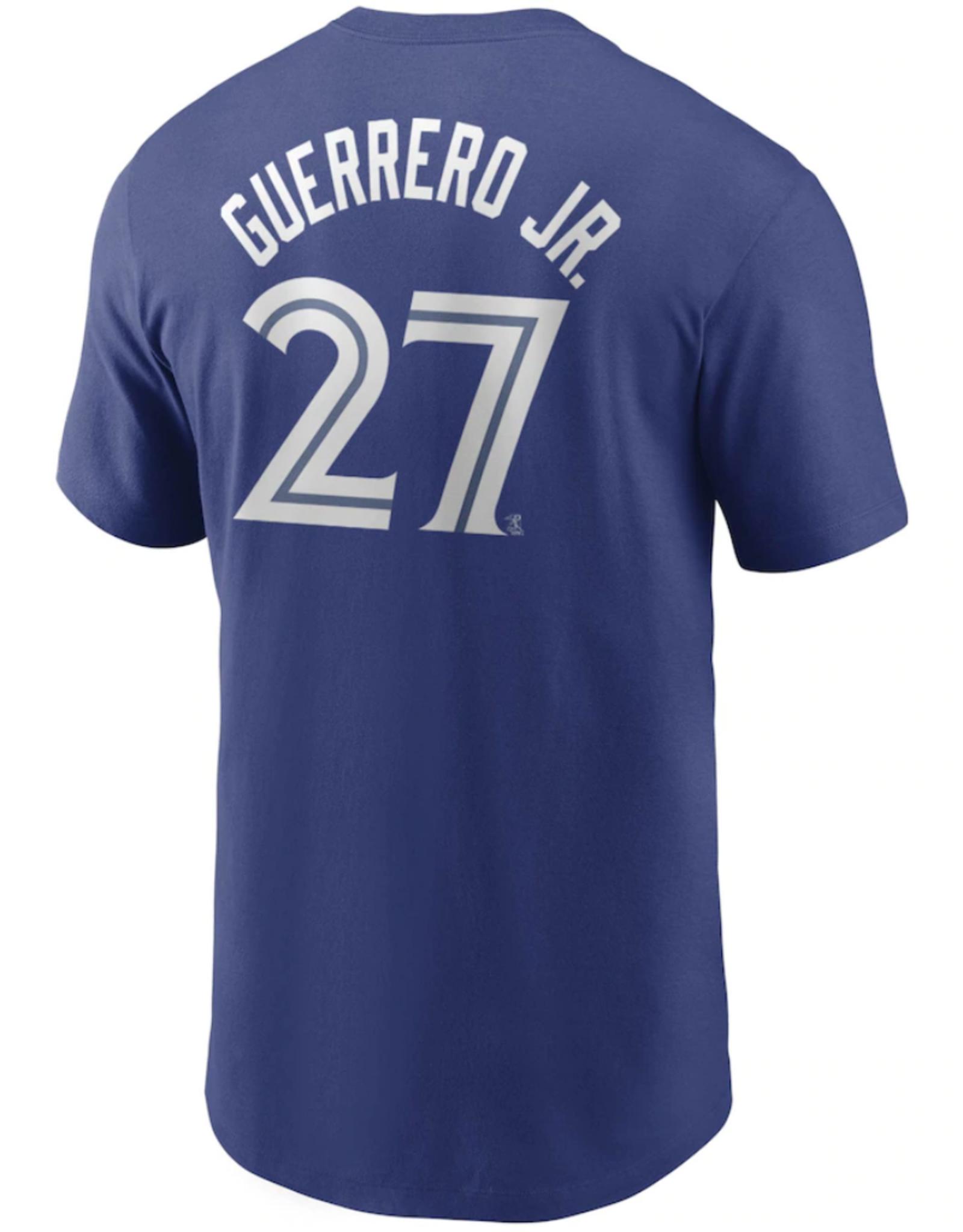Nike Men's Player T-Shirt Guerrero #27 Toronto Blue Jays Royal