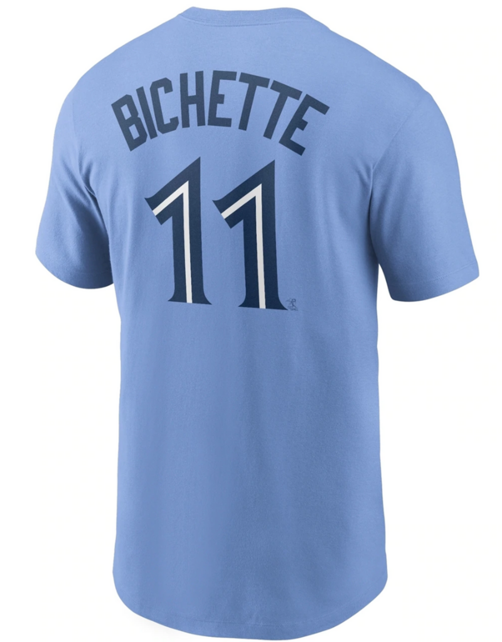 Nike Men's Player T-Shirt Bichette #11 Toronto Blue Jays Valor Blue
