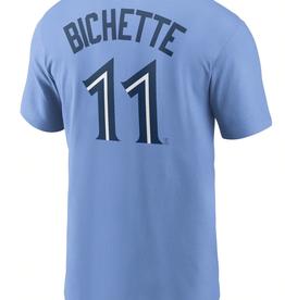 Nike Men's Player T-Shirt Bichette #11 Toronto Blue Jays Valor Blue