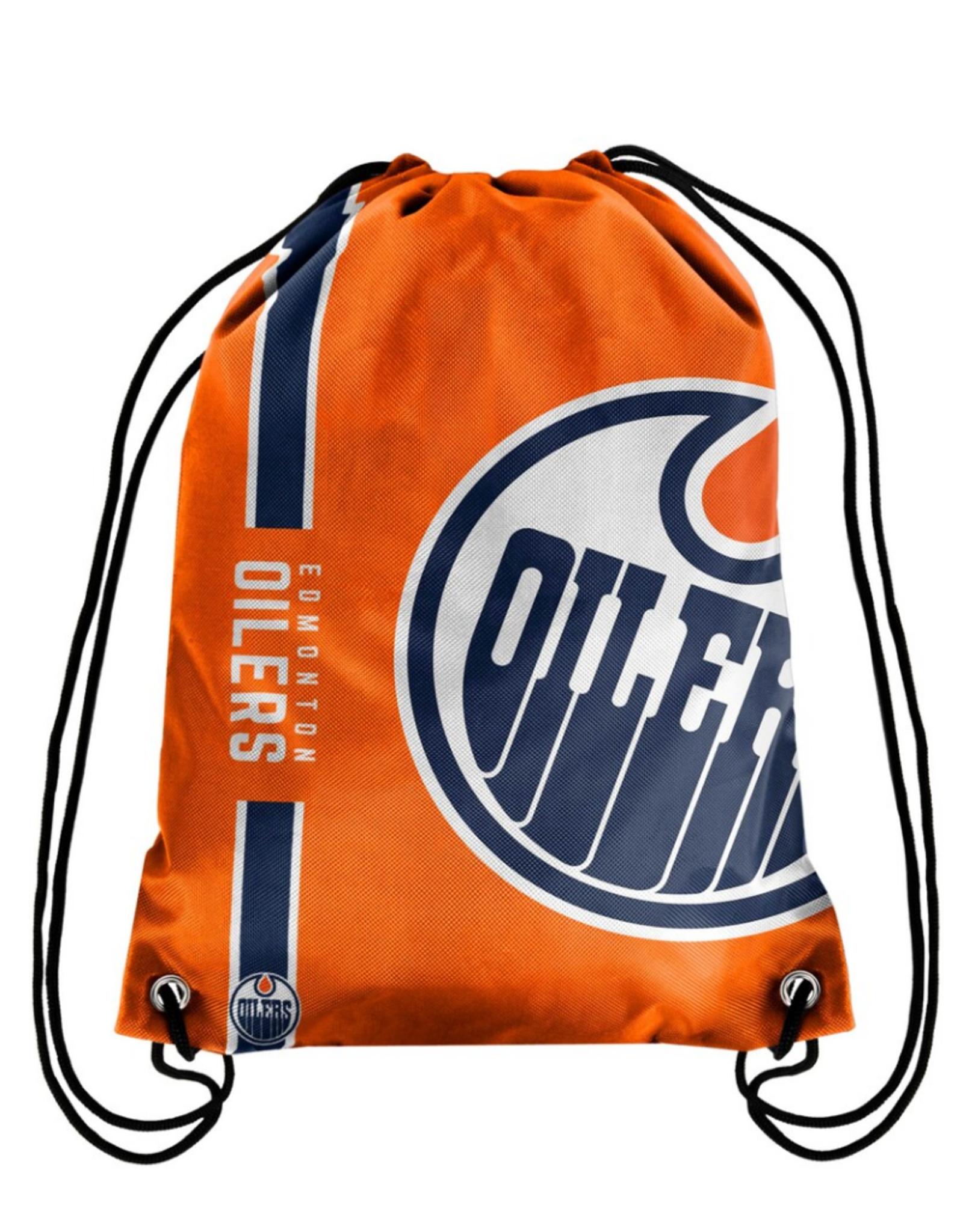 FOCO FOCO Drawstring Big Logo Bag Edmonton Oilers