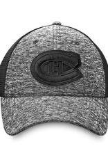 Fanatics Fanatics Men's Black Ice Stretch Fit Hat Montreal Canadiens Black