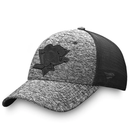 Fanatics Fanatics Men's Black Ice Stretch Fit Hat Pittsburgh Penguins Black