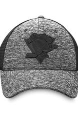 Fanatics Fanatics Men's Black Ice Stretch Fit Hat Pittsburgh Penguins Black