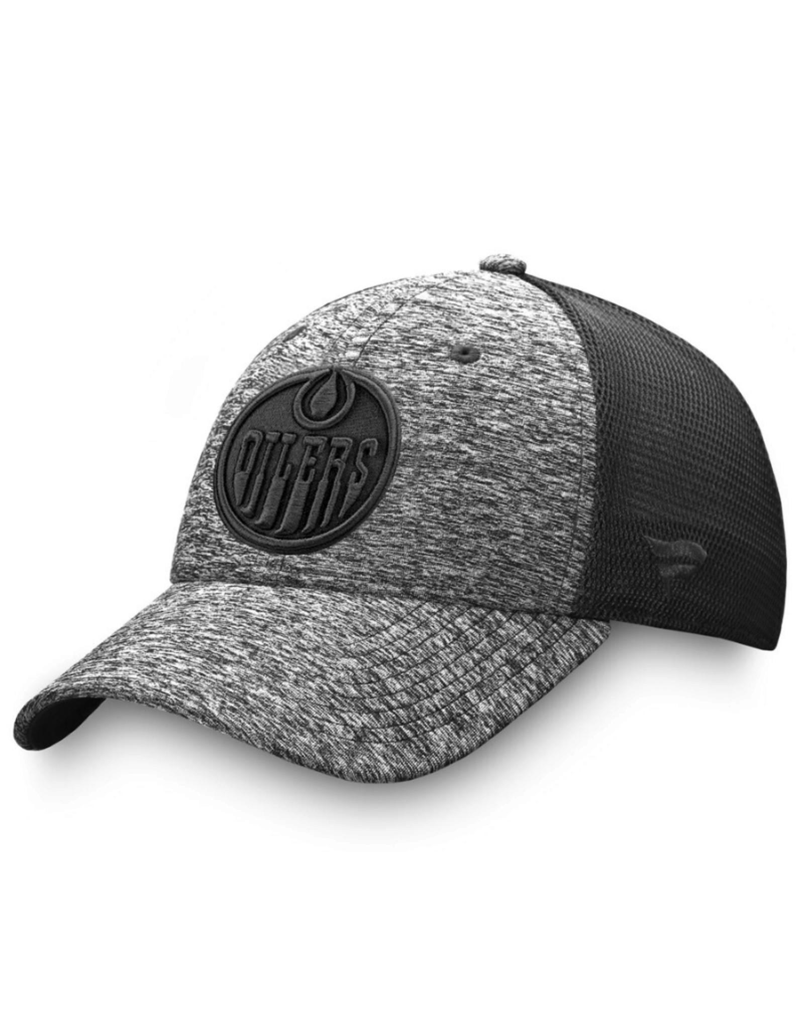 Fanatics Fanatics Men's Black Ice Stretch Fit Hat Edmonton Oilers Black