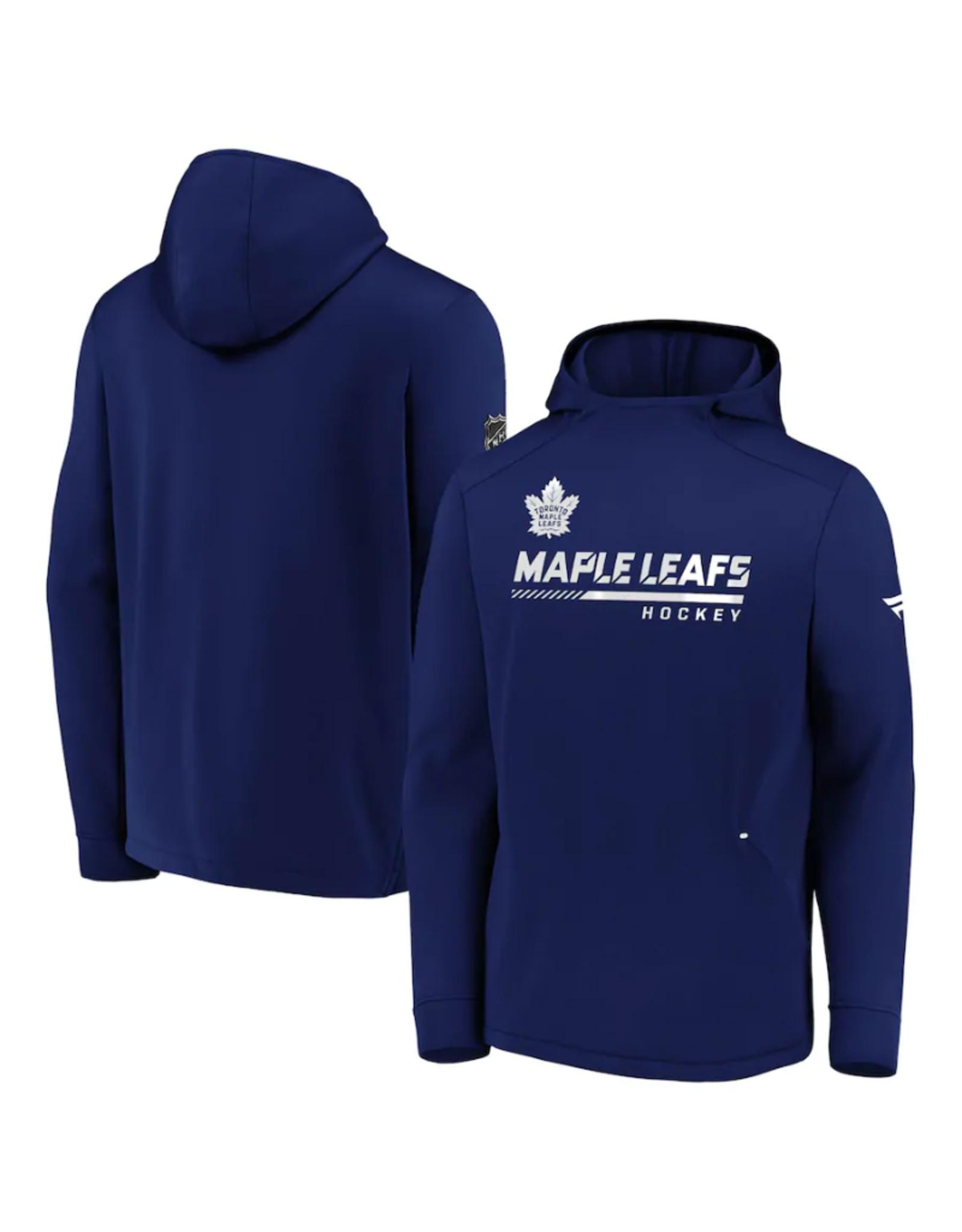 Fanatics Fanatics Men's Authentic Pro Locker Room Pullover Hoodie Toronto Maple leafs Blue