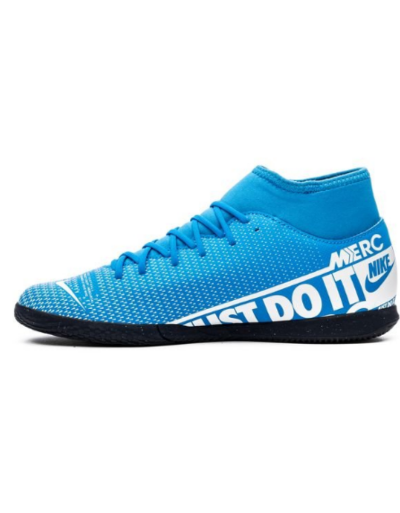Nike Men's Soccer Superfly 7 Club Indoor Shoe Blue