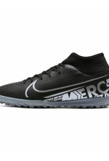 Nike Men's Superfly 7 Club Turf Shoes Black