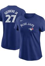 Nike Women's Player T-Shirt Guerrero Jr. #27 Toronto Blue Jays Royal
