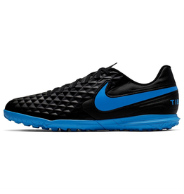 Nike Youth Legend 8 Club Turf Shoe Black/Blue