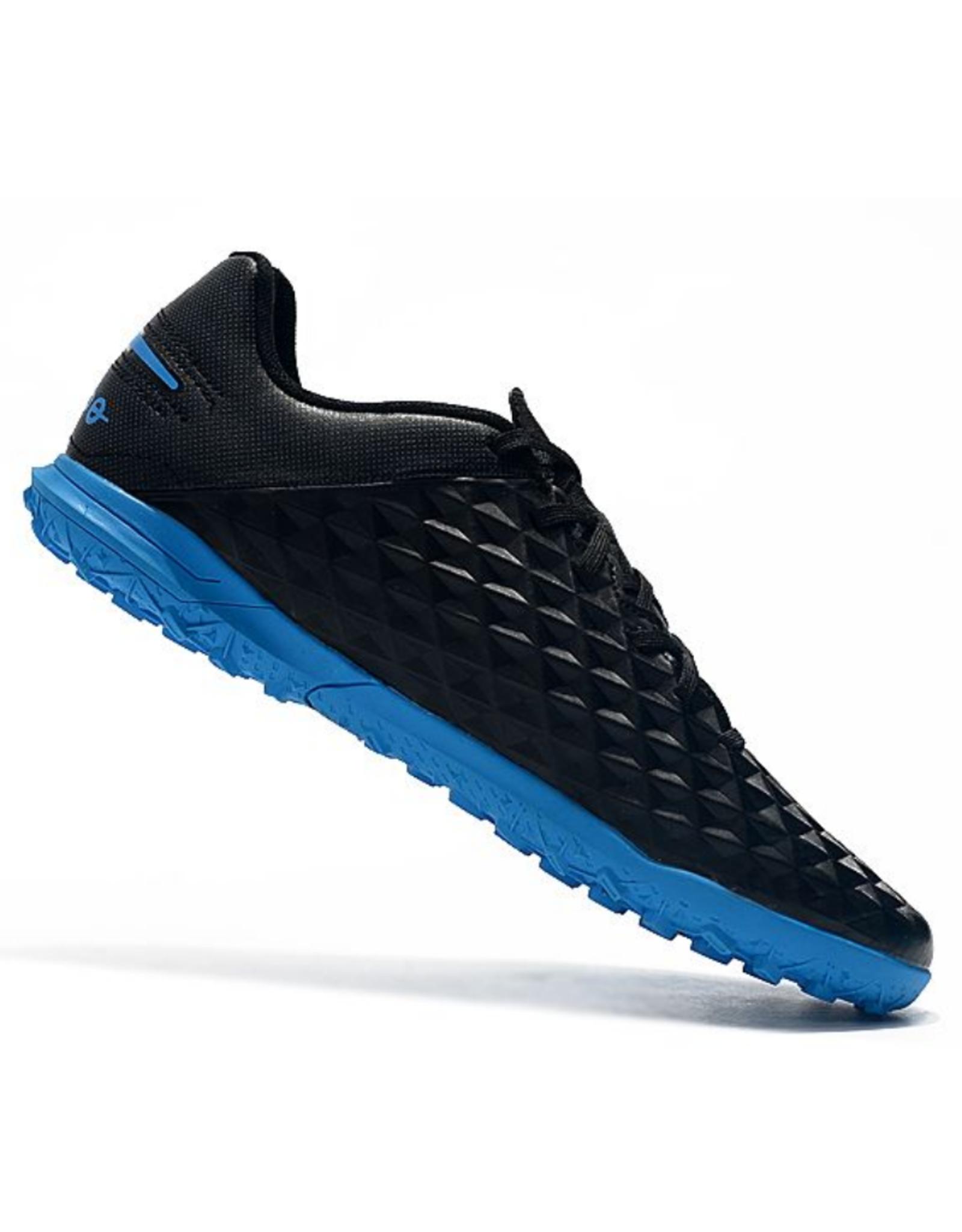 Nike Youth Legend 8 Club Turf Shoe Black/Blue