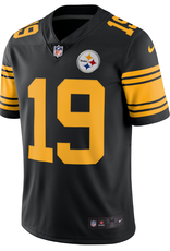 Nike Men's Limited Smith-Schuster #19 Jersey Pittsburgh Steelers Black