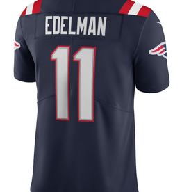 Nike Men's Limited Edelman #11 Jersey New England Patriots Navy