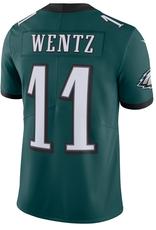 Nike Men's Limited Wentz #11 Jersey Philadelphia Eagles Green
