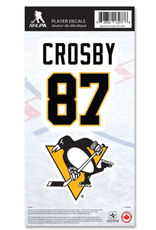 Mustang Mustang Player Decal Crosby #87 Pittsburgh Penguins