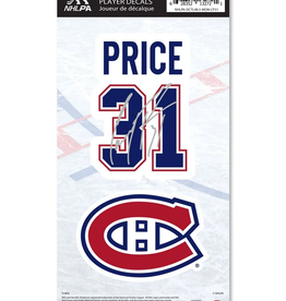 Mustang Mustang Player Decal Price #31 Montreal Canadiens