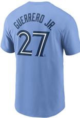 Nike Men's Player T-Shirt Guerrero #27 Toronto Blue Jays Blue