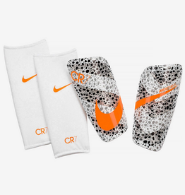 Nike Adult Mercurial Lite Shin Guard CR7 White/Black/Orange