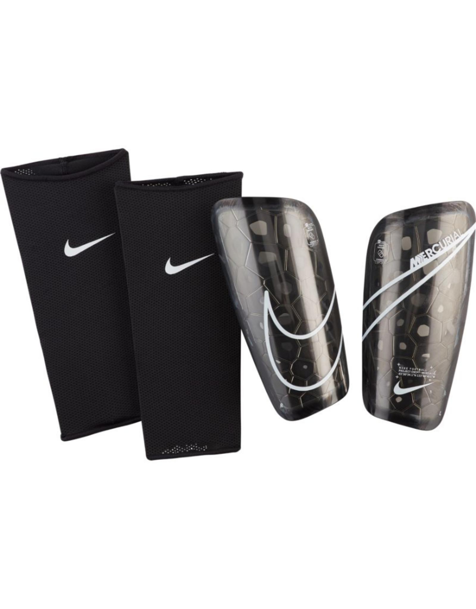 Nike Adult Mercurial Lite Soccer Shin Guard Black