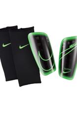Nike Adult Mercurial Lite Soccer Shin Guard Black Green
