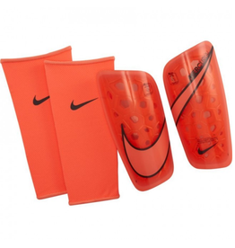 Nike Adult Mercurial Lite Soccer Shin Guard Orange