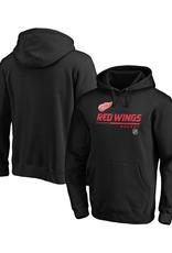 Fanatics Fanatics Men's Authentic Pro Prime Hoodie Detroit Red Wings Black