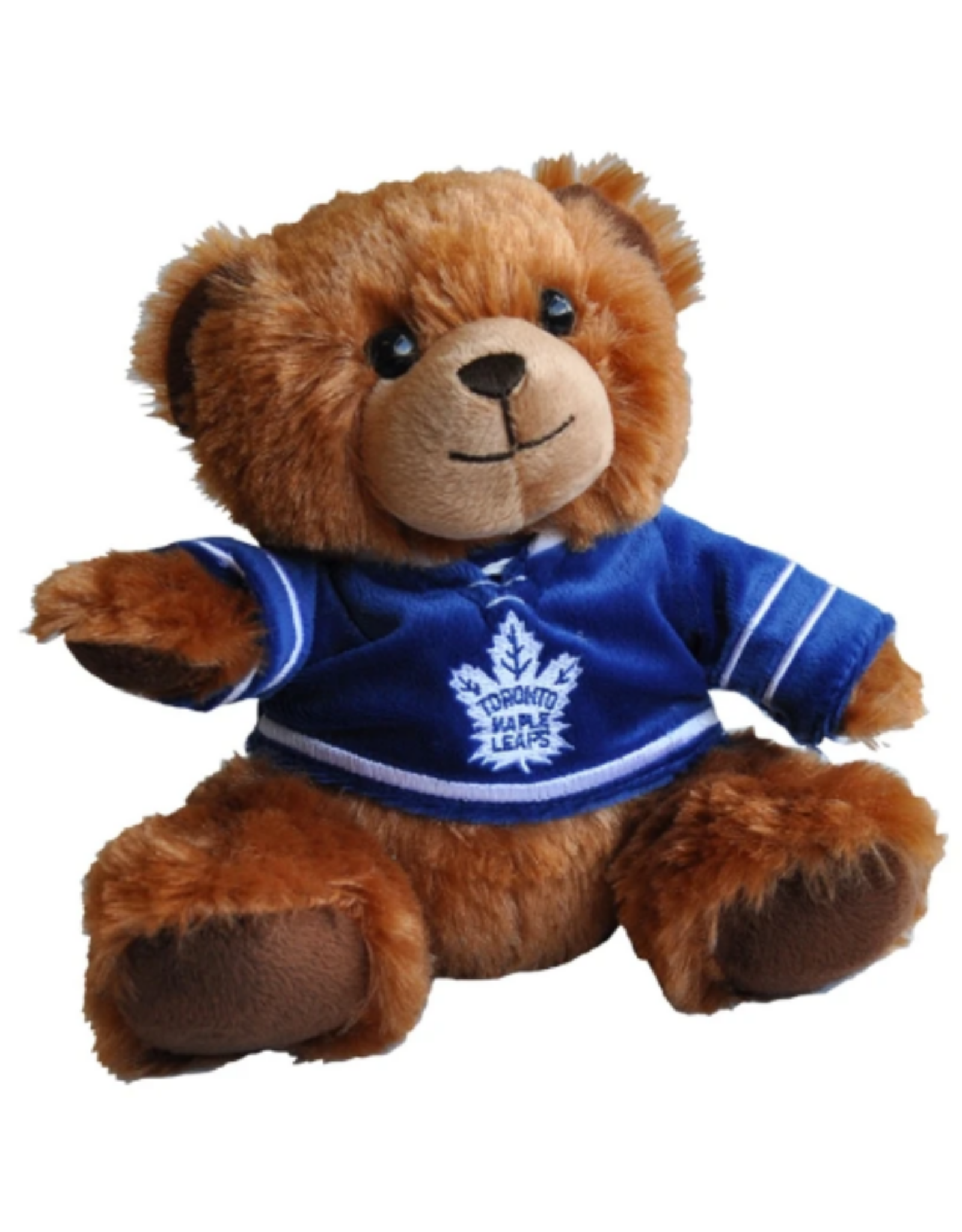 "Forever Collectables FOCO Seated Jersey Bear 7.5"" Toronto Maple Leafs"