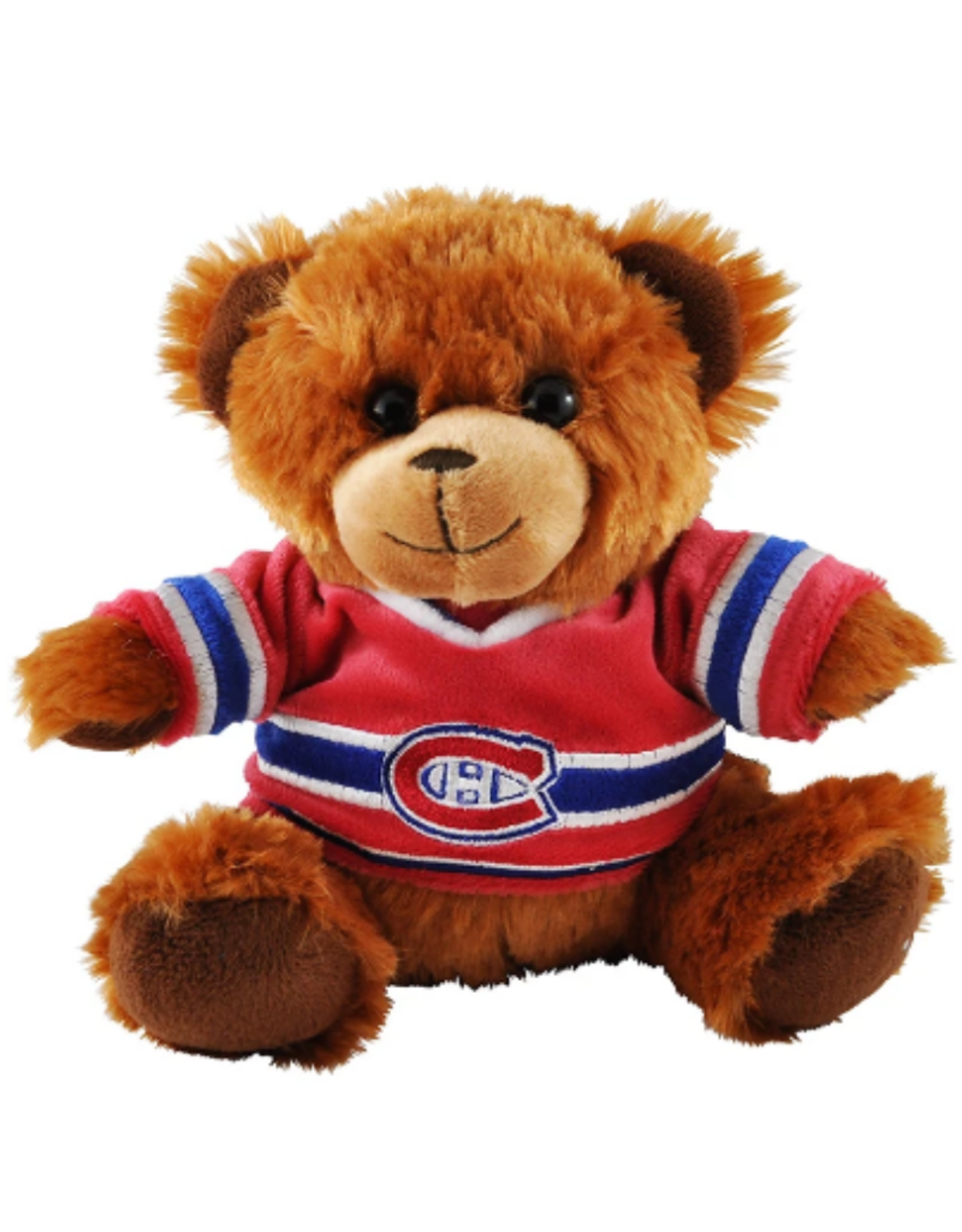 "Forever Collectables FOCO Seated Jersey Bear 7.5"" Montreal Canadiens"
